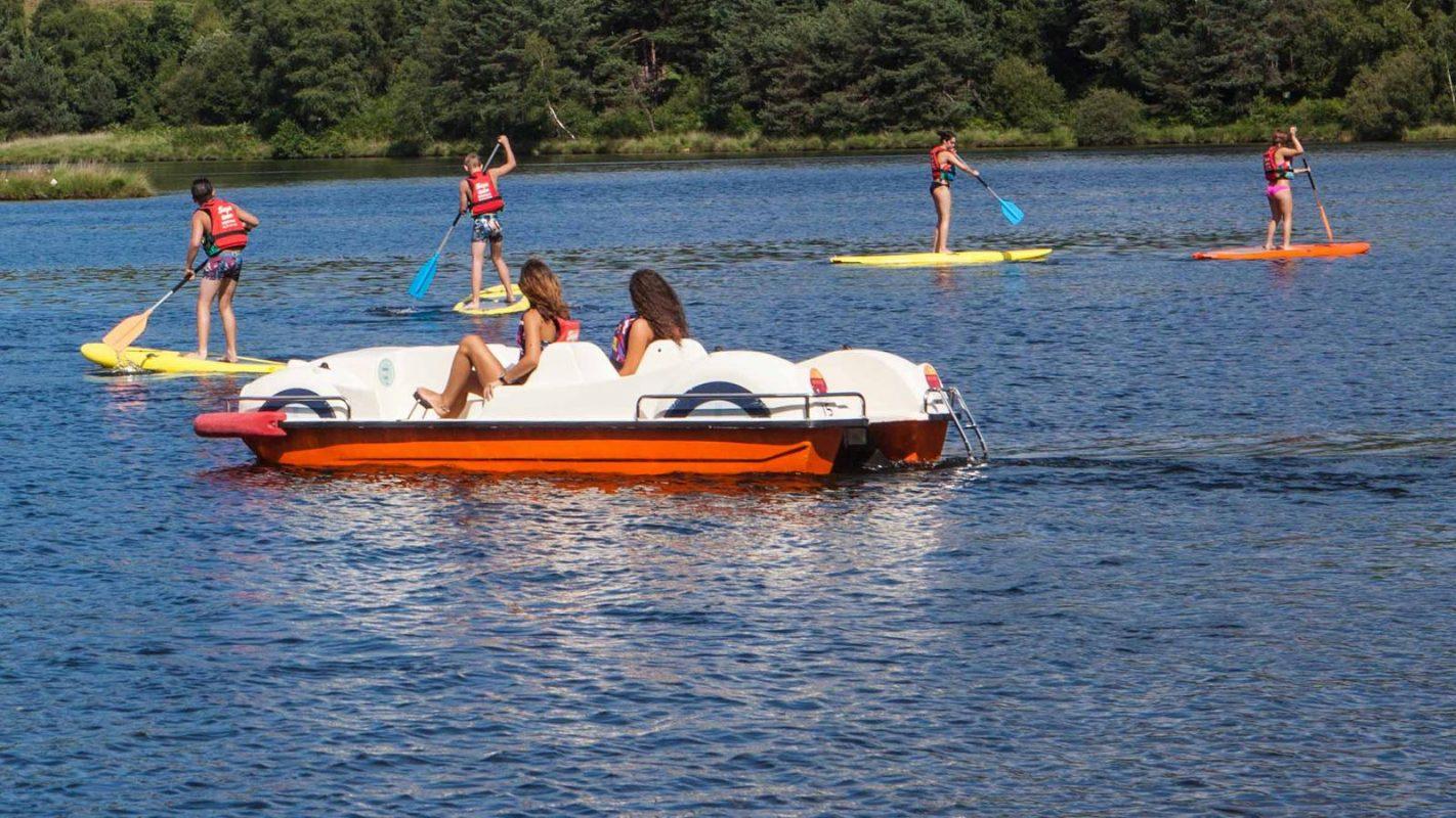 Camping lac leman avec piscine dans ma roulotte les for Camping bourget du lac avec piscine