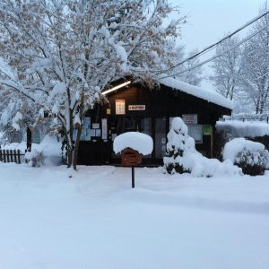camping hiver le giffre