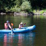 camping bord de rivière en corrèze
